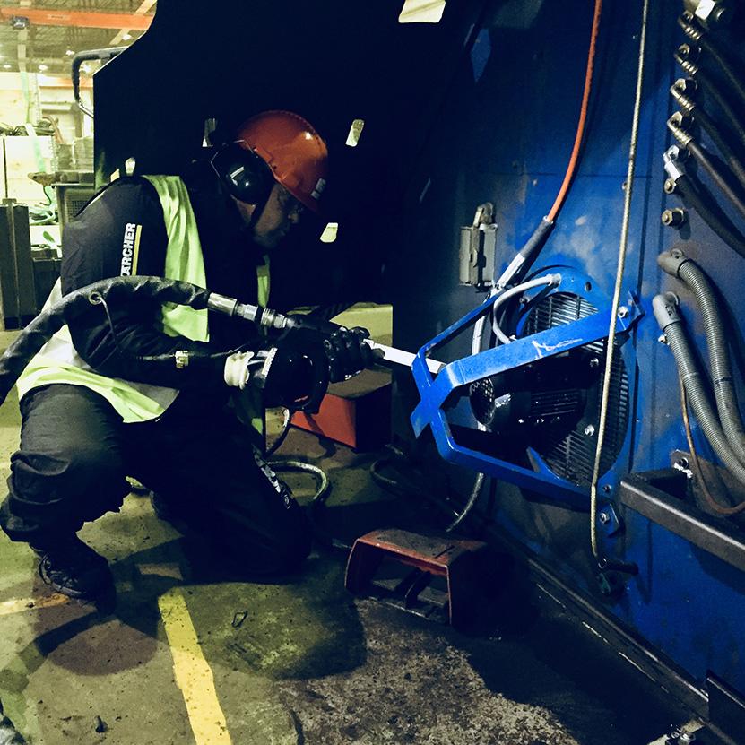Ren Teknikk på Celsa Steel Service
